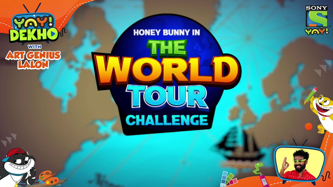 Honey Bunny in the World Tour Challenge | Brand New Movie | YAY! Dekho with Art Genius Lalon